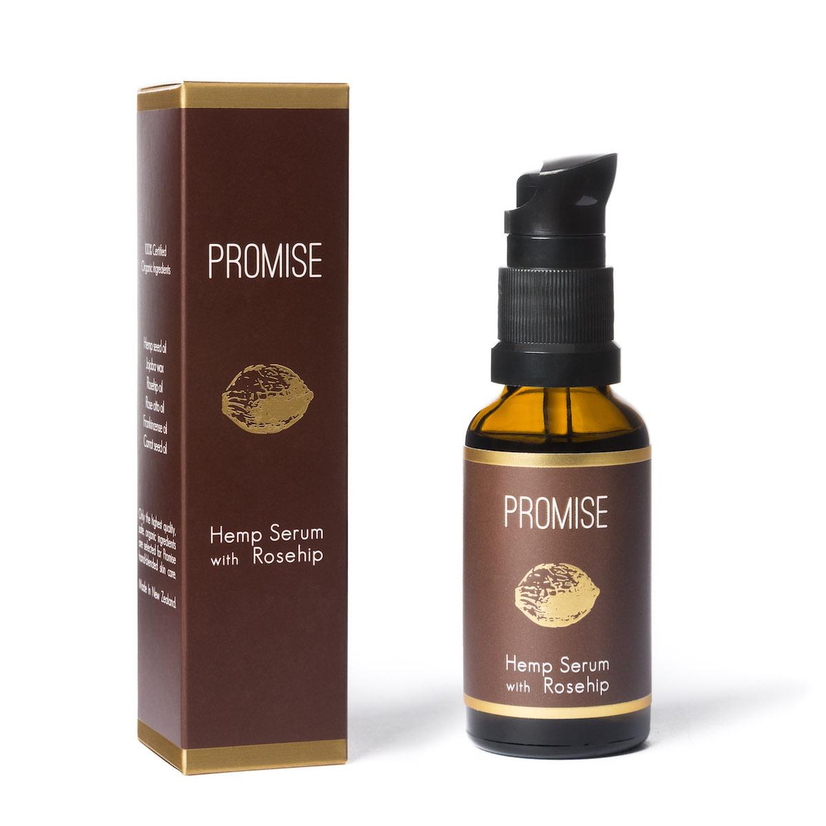 Promise ヘンプ美容液 (ローズヒップオイル入り)