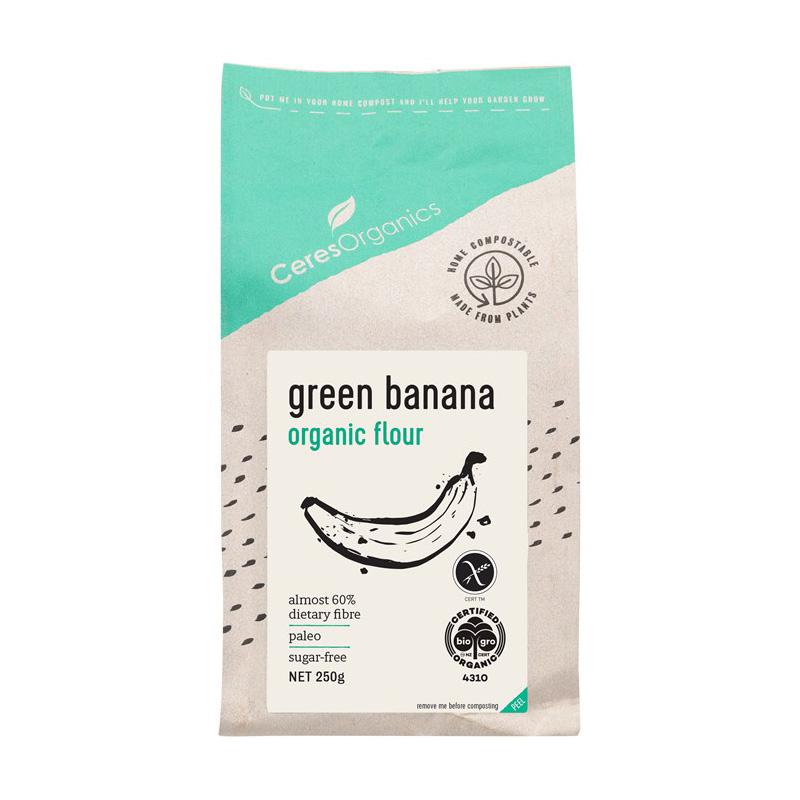 オーガニック グリーンバナナ粉
