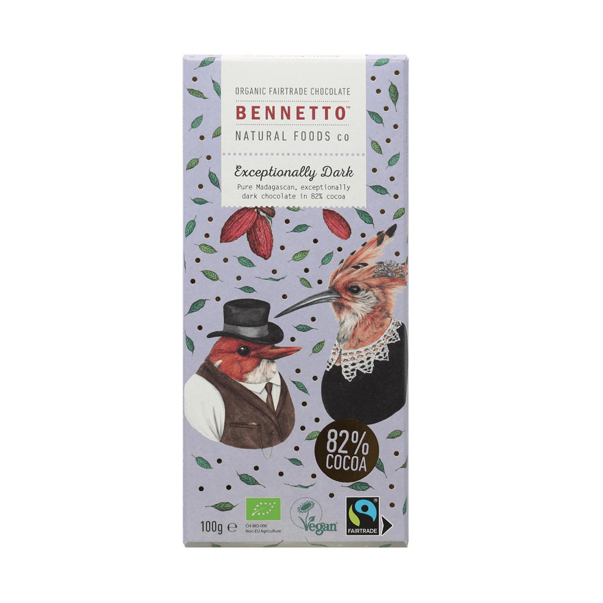 ベネットチョコレート カカオ82%